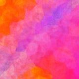Struttura variopinta irregolare interessante del fondo con la rosa arancione Immagine Stock Libera da Diritti