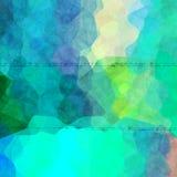 Struttura variopinta irregolare interessante del fondo con verde blu Fotografia Stock Libera da Diritti