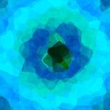 Struttura variopinta irregolare interessante del fondo con verde blu Immagini Stock