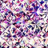 Struttura variopinta senza cuciture del diamante illustrazione vettoriale