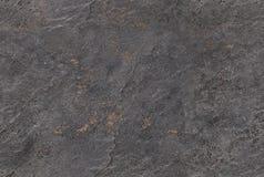 Struttura veneziana senza cuciture grigio scuro della pietra del fondo del gesso Disegno veneziano tradizionale del modello del g Immagine Stock Libera da Diritti