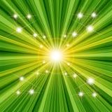 Struttura verde Fotografia Stock