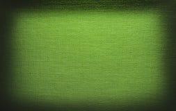 Struttura verde chiaro della tela di canapa Fotografia Stock