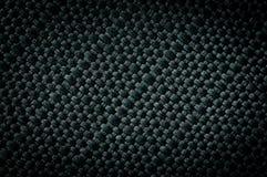 Struttura verde d'annata della tela Fotografia Stock Libera da Diritti