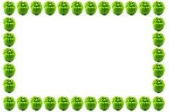 Struttura verde del capsico Immagini Stock Libere da Diritti