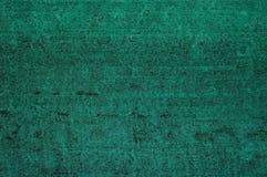 Struttura verde del metallo Fotografie Stock