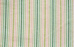 Struttura verde del tessuto Fotografia Stock