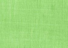 Struttura verde del tessuto Immagine Stock