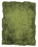 Struttura verde della tela di canapa Fotografie Stock