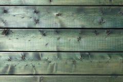 Struttura verde di legno naturale del fondo Fotografie Stock