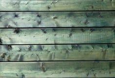 Struttura verde di legno naturale del fondo Immagini Stock Libere da Diritti
