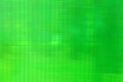 Struttura verde di plastica astratta con le bande vaghe Fotografia Stock