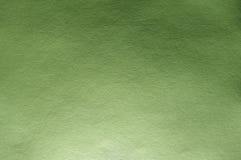 Struttura verde intenso reale della carta di colore Immagini Stock Libere da Diritti