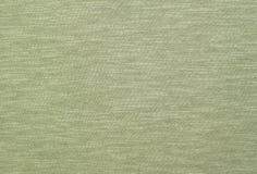 Struttura verde qualitativa delle mélange sulla tela del eco-cotone Fotografia Stock Libera da Diritti