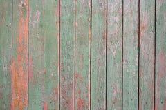 Struttura verticale di legno dei colori del turchese, superficie di legno misera Vecchia struttura per vecchia struttura del fond fotografia stock