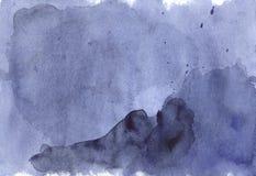 Struttura vibrante moderna del fondo dell'acquerello Lo splashin di colore Immagine Stock