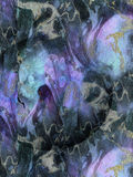 Struttura viola blu astratta della decorazione, fondo Fotografia Stock Libera da Diritti