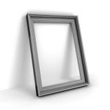 Struttura vuota della foto o dell'immagine su fondo bianco Fotografie Stock Libere da Diritti