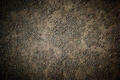 Strutturato a terra della sabbia Fotografia Stock