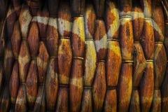 Strutture astratte del tessuto di canestro Fotografie Stock