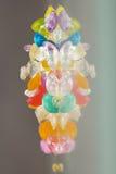Strutture astratte delle palle rotte della gelatina con le riflessioni Fotografie Stock