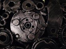 Strutture d'acciaio della ferraglia e progettazioni creative dei modelli Immagine Stock Libera da Diritti