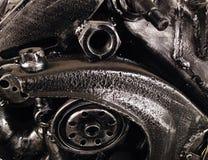 Strutture d'acciaio della ferraglia e progettazioni creative dei modelli Fotografie Stock