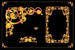 Strutture d'annata ed immagine di vettore degli elementi royalty illustrazione gratis