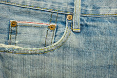 Strutture dei jeans Fotografia Stock