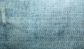 Strutture dei jeans Fotografie Stock