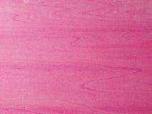 Strutture del colore rosa di legno Fotografia Stock