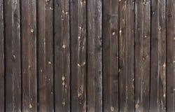 Strutture del primo piano di legno verniciato della parete della plancia per fondo fotografia stock