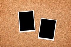 Strutture della foto della polaroid Fotografie Stock