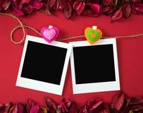 Strutture della foto per il tema del biglietto di S. Valentino Fotografia Stock