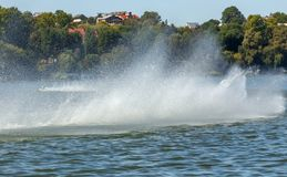 Strutture della goccia di acqua e dell'acqua splatter Immagine Stock Libera da Diritti