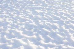 Strutture della neve Fotografie Stock Libere da Diritti