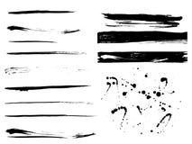 Strutture della vernice di Grunge Fotografie Stock