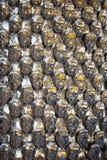 Strutture delle statue della gente del ferro Fotografia Stock Libera da Diritti