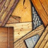 Strutture di legno Fotografie Stock