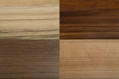 Strutture di legno di alta risoluzione quattro Immagine Stock