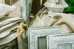 Strutture di legno grige della foto Fotografia Stock Libera da Diritti