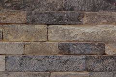 Strutture di pietra scolpite Fotografie Stock