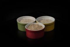 Strutture di riso fotografie stock