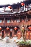 Strutture di terra del Fujian Fotografie Stock