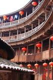 Strutture di terra del Fujian Fotografia Stock