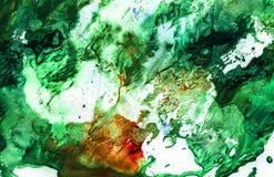 Strutture dipinte luminose dell'acquerello fotografia stock