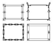 Strutture disegnate a mano decorative Immagine Stock Libera da Diritti