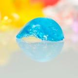 Strutture e modelli astratti delle palle rotte della gelatina Fotografia Stock