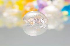 Strutture e modelli astratti delle palle rotte della gelatina Immagini Stock