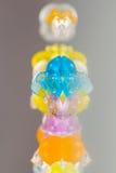 Strutture e modelli astratti delle palle rotte della gelatina Immagini Stock Libere da Diritti